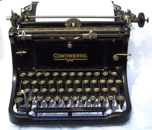 Image of antique typewriter